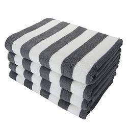 Arkwright California Cabana Striped Oversized Beach Towel |