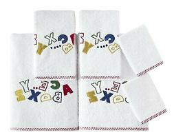 SALBAKOS Child Baby Towel Set with Wash Cloths