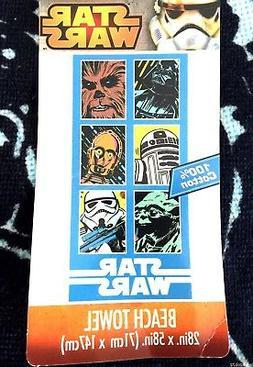 Star Wars Classic Grid Beach Towel