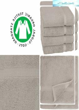 collection organic cotton bath towel marble grey