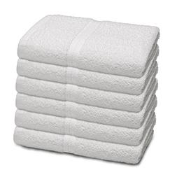 COMMERCIAL BASIC 6 PIECE BATH TOWEL SET BY MARTEX - 6 Bath T