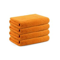Context 4 pcs Hand Towels For Bathroom, 100% Cotton, Soft/Lu