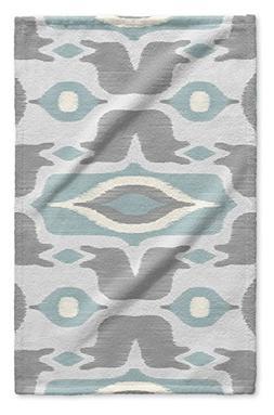 KAVKA DESIGNS Cosmos Blue Hand Towel,  - BOHEMIA Collection,