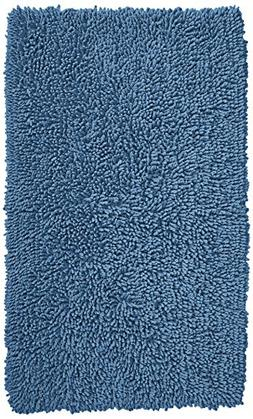 Pinzon 100% Cotton Looped Bath Rug with Non-Slip Backing - 3