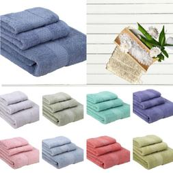 Cotton Multicolor bath face towel Solid Pink Soft Towels Qui