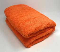 Goza Towels Cotton Oversized Bath Sheet Towel  - Orange