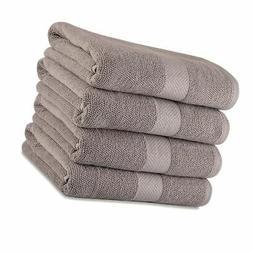 Maura Premium 100% Cotton 27x54 Ultra Absorbent Quick Dry 4