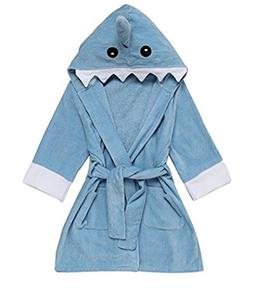 Mr.Duca Cute Hooded Towels for Baby Toddler Children Bathrob