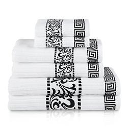Blue Nile Mills Decorative Athens 6-Piece Cotton Bath Towel