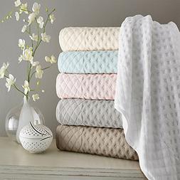 Kassatex Diamant Bath Towel - Silver Pond