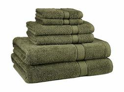 NEW 6 Piece 100% Egyptian Cotton 725 Gram Bath Towel Towels