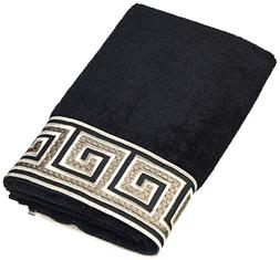 Avanti Linens Eternity Hand Towel, 16 by 30-Inch, Black