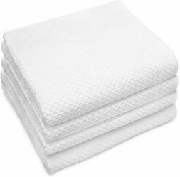 Cotton Craft - 4 Pack EuroSpa Waffle Weave Oversized Bath To