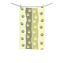 Fantasy Design Paw Striped Super Soft and Highly Absorbent H