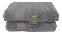Salbakos Fine Italian Silk and Combed Turkish Cotton Bath To