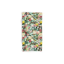 Society6 Floral And Birds III Set of 4