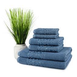 Galata 6 pcs Turkish Cotton Towel Set