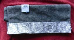 Avanti Linens Galaxy Hand Towel Granite Cotton Beautiful Bat