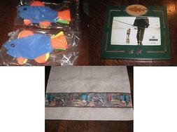 *GREAT OUTDOORS* FISHING HAND TOWEL LOT of 10 + PHOTO FRAME