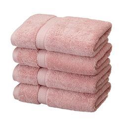 4-Piece Hand Towel Set, Premium Long-Staple Cotton, 900 GSM,