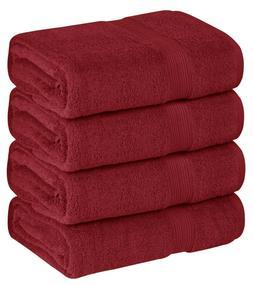 High Quality Premium 100% Cotton 4 Pack Oversized Large Bath