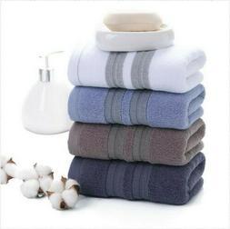 Home Cotton Towels Bathroom Kitchen Durable Fashion Bath Tow