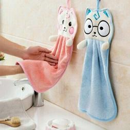 Home Hanging Hand Towels Bathroom Kitchen Towel Quick Dry Ab