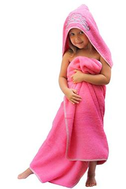 Hooded Kid  Bath Towel Toddler Cute Blanket Wrap Bathrobe G