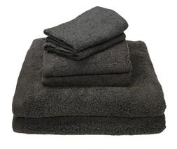 Luxury 6 Piece Cotton Bath Towel Set; 2 Bath Towels 27 x 52""
