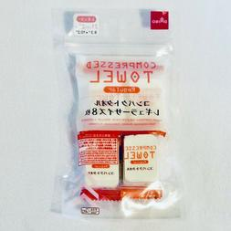 Daiso Japan Compressed Towels 8 Individual Packs 10.2 in X 8