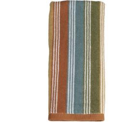 Kids Woodland Creatures Striped Hand Towel