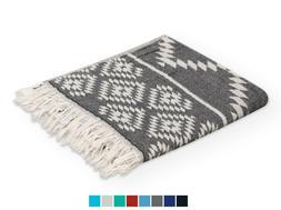 QUICK-DRY TURKISH TOWEL MULTI-USE BEACH BATH PAREO SARONG FO