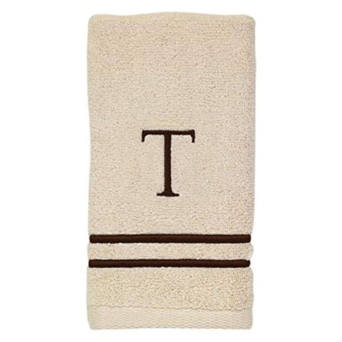 Avanti 050876A Monogram Bath/Hand Towel Kit, Medium,