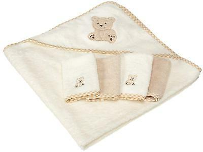 Spasilk Cotton Terry with 4 Washcloths,