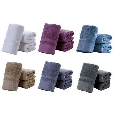 Soft Cotton Bath Towels SPA Home Bathroom Bathing Quick Dry