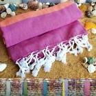 100% Turkish Cotton Towel Peshtemal Bath Beach Large Fouta W