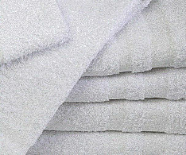 1 dozen new white 22x44 gym salon spa bath towels cotton at