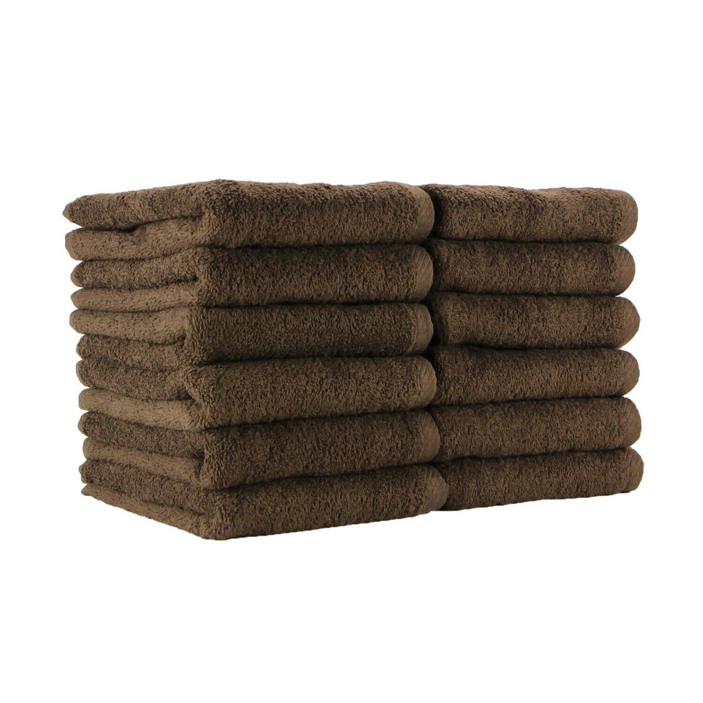 12 Towels - Bleach 16 x 27 Cotton Towel Color