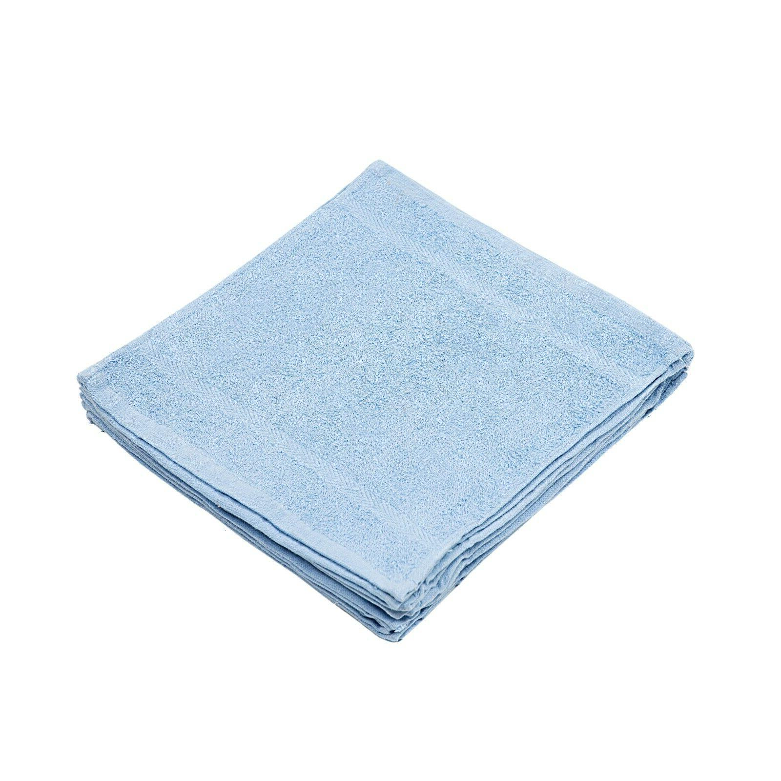 12 pack soft washcloths face towels 12x12