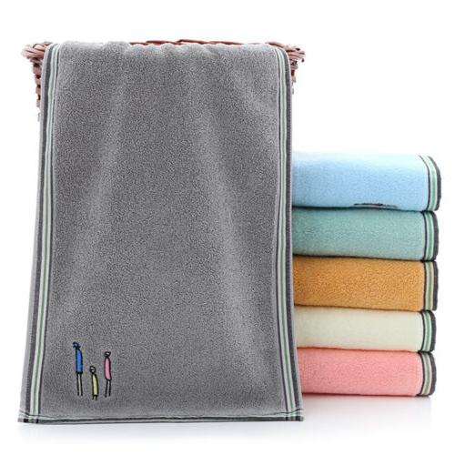 2/4/6pcs Hand 100% Cotton Luxury Face Gym Bath Set