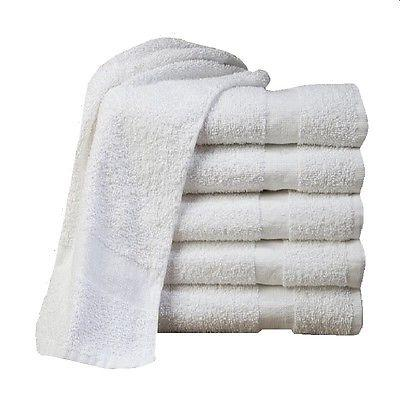 24  cotton economy bath towels utility grade 20x40