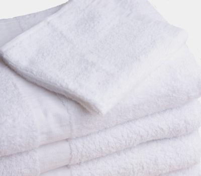 24 new white bath washcloths 12x12 wholesale