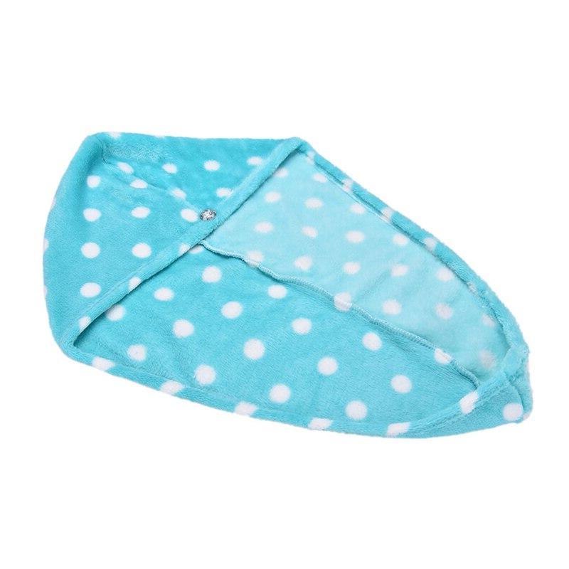 25x62 Lady's Dry Cap Dry Lovely Drying Soft Head Hat Makeup Cosmetics <font><b>Towels</b></font>