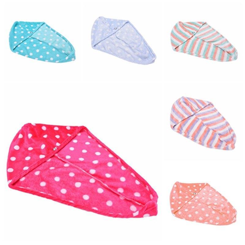 25x62 cm Magic Dry Hair Cap Dry Hair Drying <font><b>Towel</b></font> Head Hat Makeup