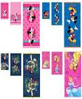 3 Piece Disney Bath Towel Set Princess / Mickey / Minnie Mou