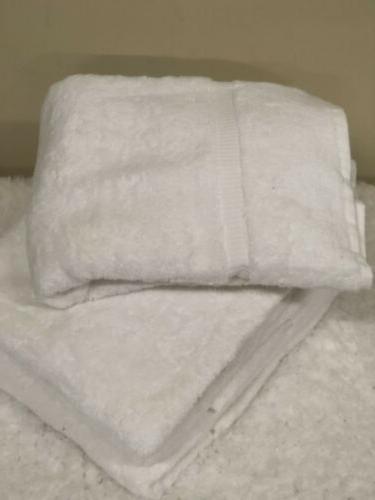 4 Pc Linens Turkish Cotton Hotel Spa Bath / Towel