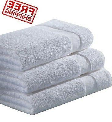 6  100% cotton bath towels econ grade 20x40 empuror hotel co