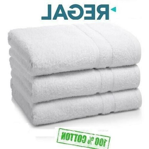 6 pack white regal collection 22x44 hotel