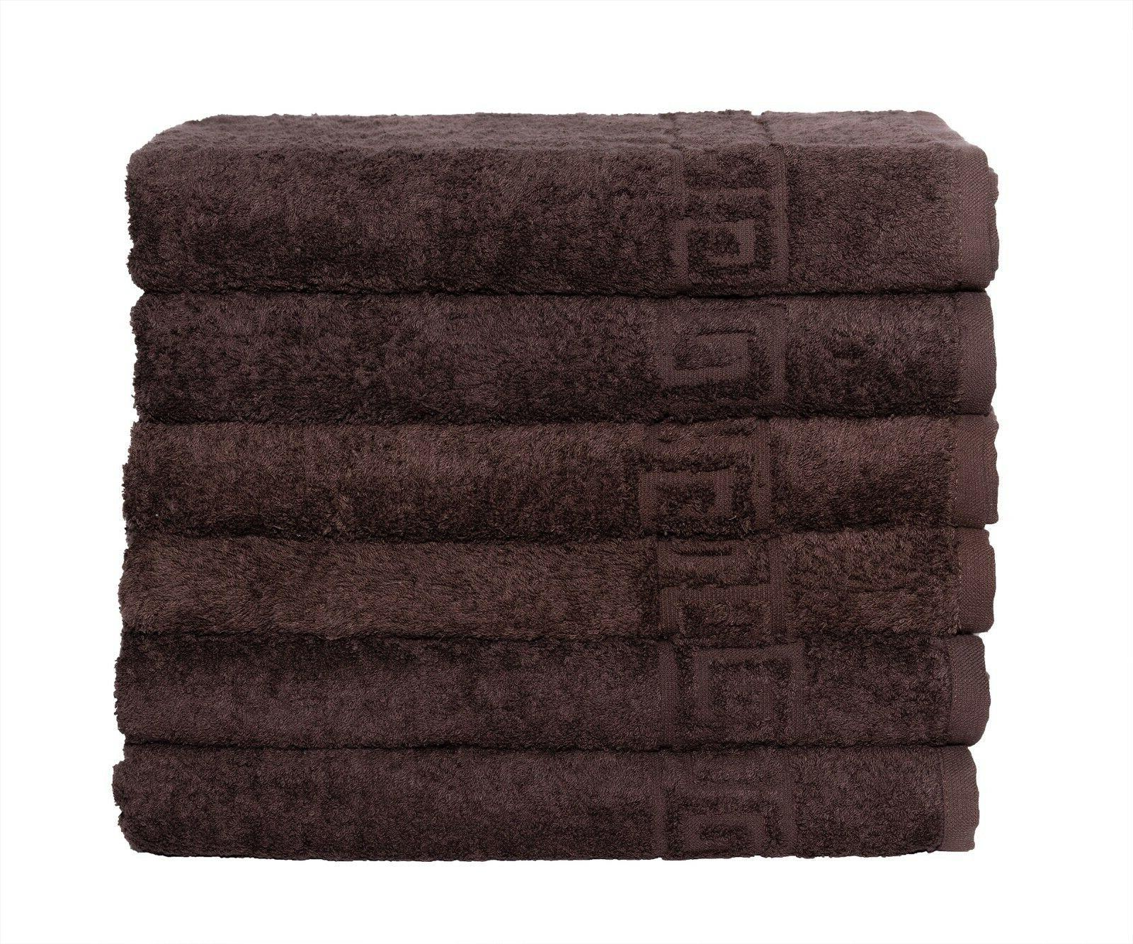 6 Pieces or 6 pcc Bath for - cotton Soft Luxury