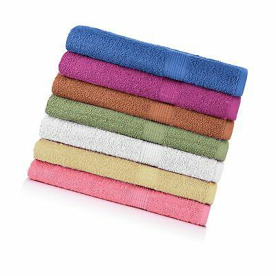 """7-pack: 27"""" X 52"""" 100% Cotton Extra-absorbent Bath Towels"""